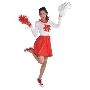 🆕 NIP GREASE Womens Rydell High Cheerleader Dress